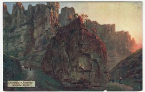 Somerset; Picturesque Somerset, Cheddar Cliffs 7768 PPC By Tuck, c 1910's