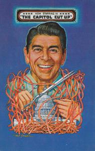 President Ronald Reagon , The Capitol Cut Up , 1982