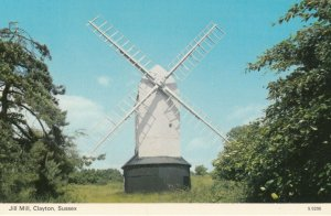 WINDMILL , Jill Mill , CLAYTON , South Downs , England , 1950-60s