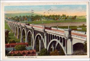 Eighth St Bridge, Allentown PA