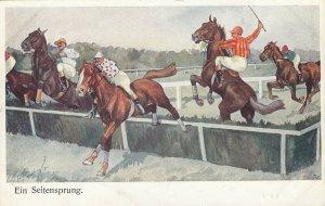 Ein Seitensprung , 00-10s ; Steeplechase Horse Race