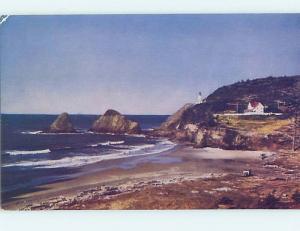 Pre-1980 BEACH SCENE Heceta Beach In Florence - Near Eugene Oregon OR G5972