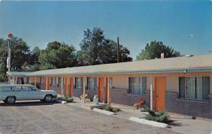 FALLON NEVADA THE RANCH MOTEL~ULTRA MODERN~SOUTH TAYLOR STREET  POSTCARD 1960s