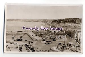 tq2003 - Jersey - Early View across St. Heliers, from Fort Regent - Postcard