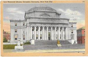 Low Memorial Library Columbia University New York City New York