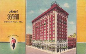 Hotel Severin, Indianapolis, Indiana, PU-1948