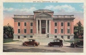 Lexington, Kentucky, 1910s; City Hall