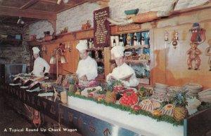 LOS ANGELES , California , 1950-60s ; Rand's Round Up Restaurant