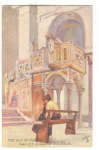 The Bay Of Naples, Pulpit Of S. Giovanni Del Toro, Ravello (Campania), Italy,...