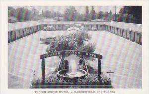 California Bakerfield Topper Motor Hotel
