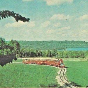 1964 Silver Lake Express Train St. Ignace, Michigan US. 2 WEST HWY Pine Train