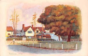 Fishbourne Isle of Wight Village Lake