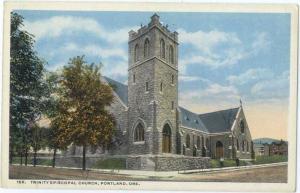 W/B Trinity Episcopal Church Portland Oregon OR