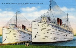 SS South American & SS North American
