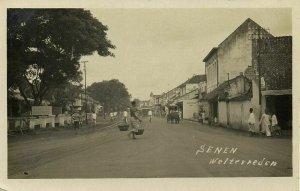indonesia, JAVA WELTEVREDEN, Senen, Pharmacy (1920s) RPPC Postcard