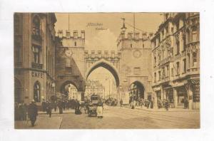Street View, Karlstor, München (Bavaria), Germany, 1900-1910s