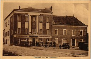 CPA CHAGNY Le Commerce (868854)