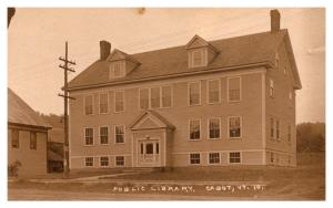 Vermont  Cabot , Public Library ,  RPC
