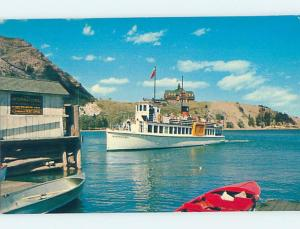 Pre-1980 NAMED BOAT Waterton Lakes National Park - Near Lethbridge AB hp7980