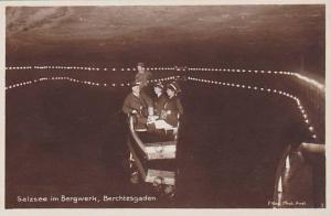 RP, Salzsee Im Bergwerk, Berchtesgaden (Bavaria), Germany, 1920-1940s