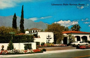 California Palm Springs Liberace's Home
