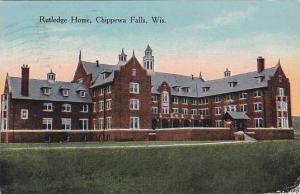 Wisconsin Chippewa Falls Rutledge Home 1924