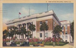 Florida Tampa Post Office Building 1944 Curteich