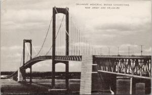 Delaware Memorial Bridge Delaware UNUSED Postcard D97 *As Is