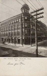 NASHVILLE, Tennessee, 1910 ; Duncan hotel