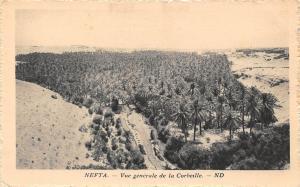 Tunisia Nefta Vue generale de la Corbeille General view