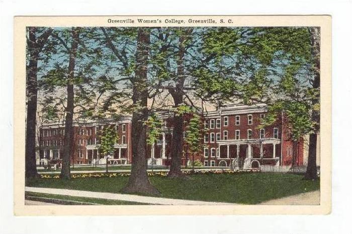 Greenville Women's College,Greenville,SC,1900-10s