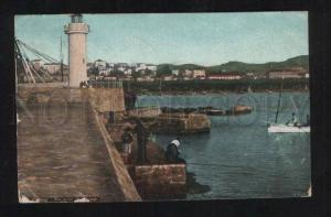 058697 FRANCE Lighthouse in Cannes Vintage PC