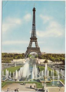 PARIS, LA TOUR EIFFEL, unused Postcard