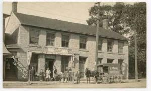 Brownville NY Grocery Wagon Store Street RPPC Postcard