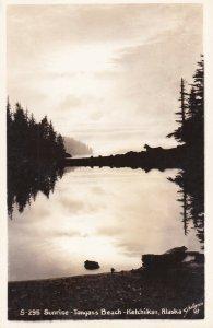 RP: KETCHIKAN, Alaska, 1910-20s; Sunrise - Tongas Beach