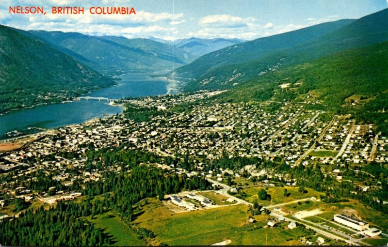 Canada Nelson Aerial View