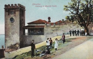 GIBRALTOR, 1900-10s; Entrance to Moorish Castle