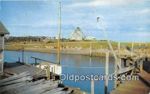 Windmill at Old Mill Point West Harwich, Mass, USA 1962