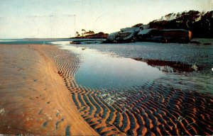 South Carolina Hilton Head Island Beach Scene With Spanish-American War Empla...