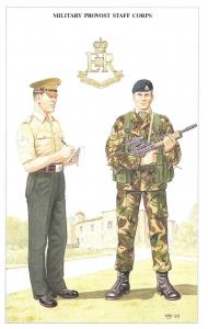 Postcard The British Army Series No.73 Military Provost Staff Corps, Geoff White
