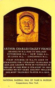 Arthur Charles (Dazzy) Vance Cooperstown, New York, USA Baseball Unused