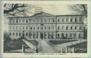 85539 - CARTOLINA d'Epoca: MACERATA città -  CONVITTO NAZIONALE 1933