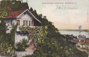 Swiss Cottage, Crapo Park, Burlington, Iowa, PU-1909