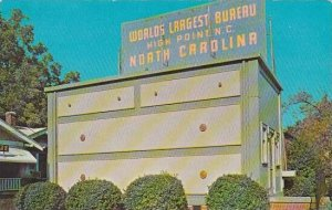 North Carolina High Point Worlds Largest Bureau