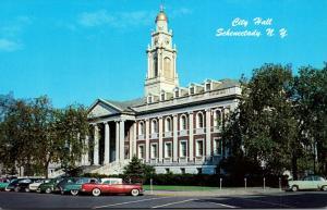 New York Schenectady City Hall