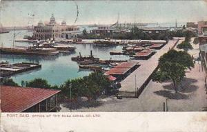 Port Said , EGYPT - PU-1907