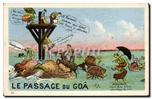 Old Postcard The Passage of Goa