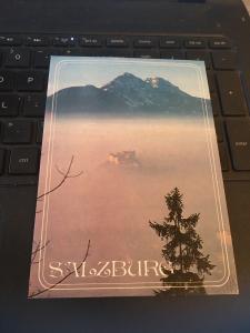Vintage Postcard: Salzburg , Allstadt und Hohensalzburg