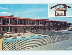Unused Pre-1980 POOL & DRIFTWOOD INN MOTEL Bowling Green Kentucky KY u5108