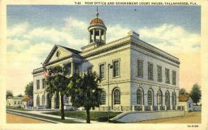 Post Office Tallahassee FL Unused